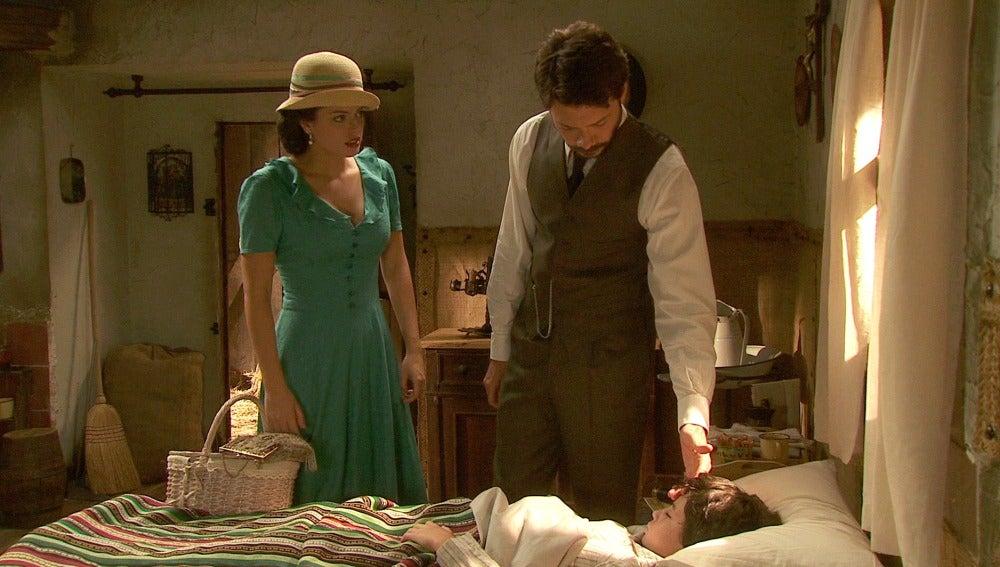 Lucas tratará a Casimiro con las medicinas manipuladas