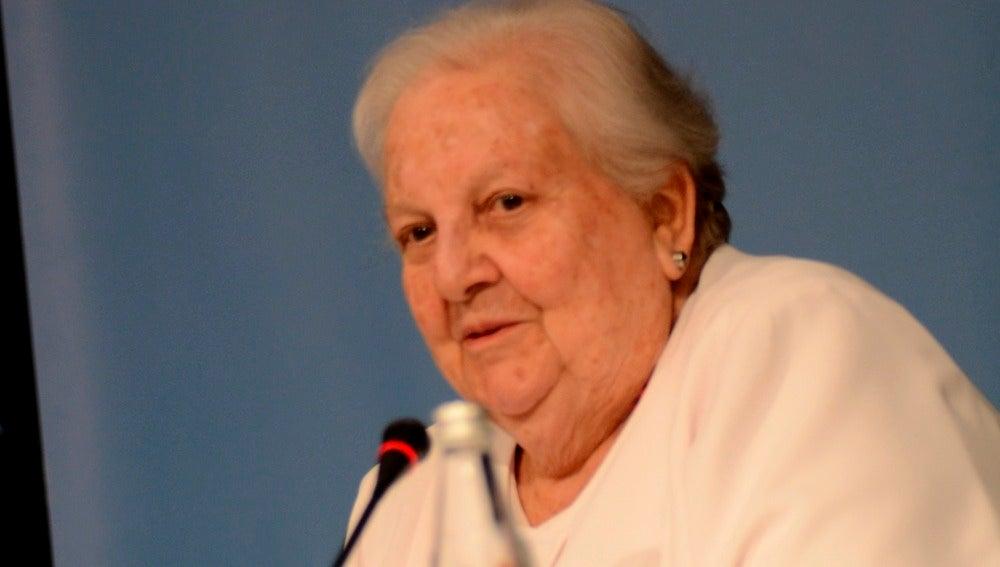 La agente literaria Carmen Balcells