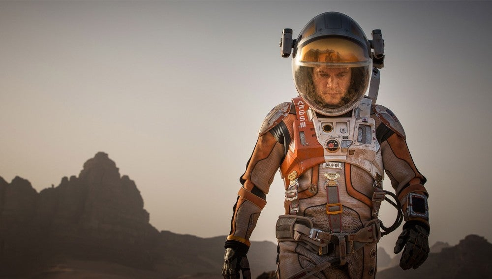 Matt Damon en 'Marte '('The Martian')