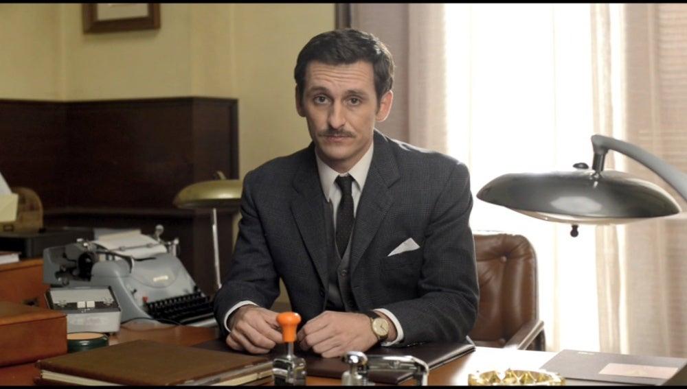Víctor, el nuevo secretario de Galerías Velvet