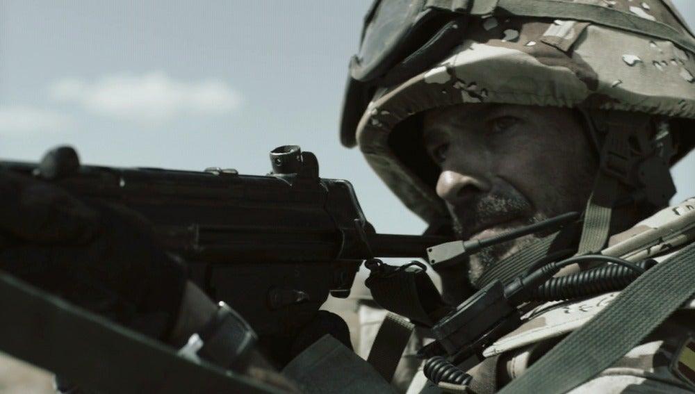 Héctor tiene pesadillas con Afganistán