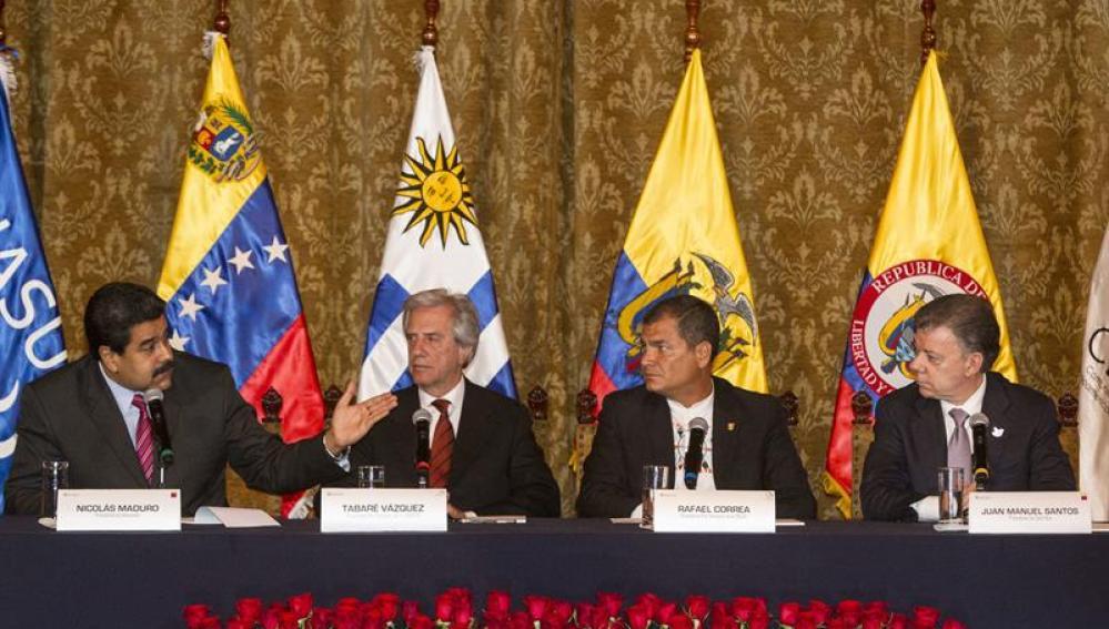 Reunión para solucionar los problemas fronterizos entre Colombia y Venezuela.