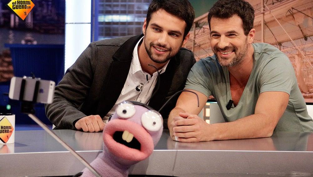 Rodolfo Sancho y Jesús Castro en El Hormiguero 3.0