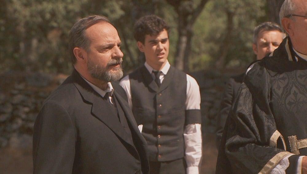 Los paisanos de Puente Viejo intentarán sabotear el funeral de Francisca