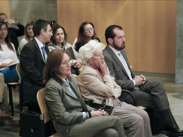 En la imagen, inicio del juicio contra los familiares de la reina Letizia