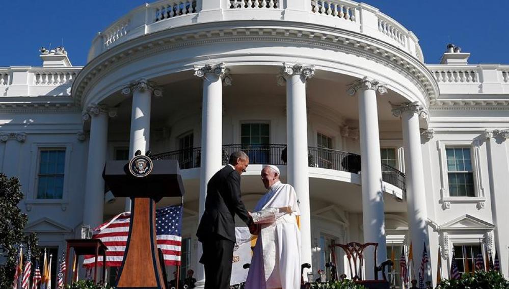 El Papa, en la Casa Blanca