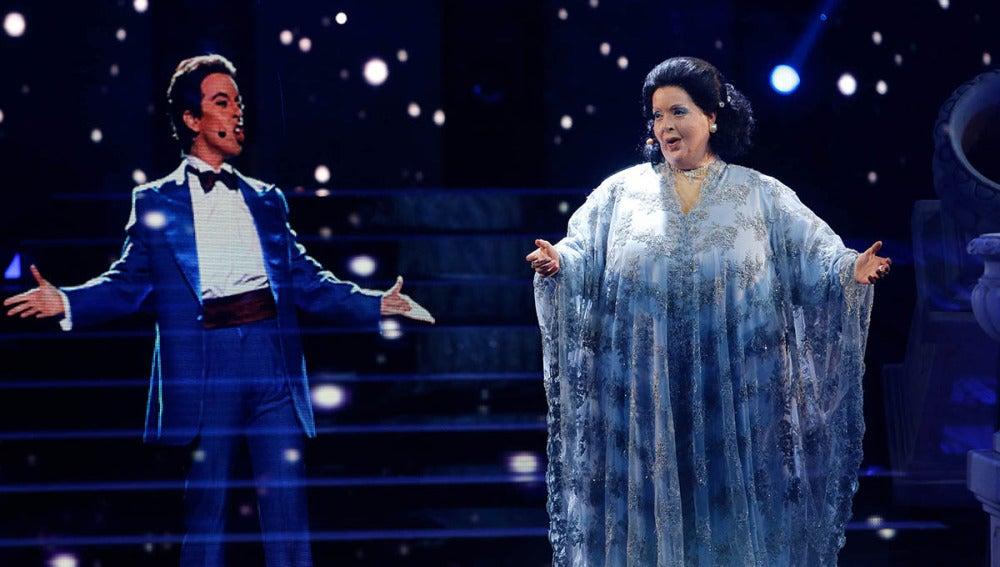 Ruth Lorenzo imita al increíble dúo Montserrat Caballé y Freddie Mercury