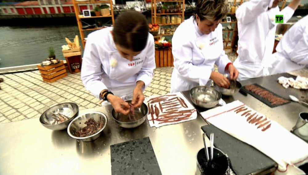 Anchoas, Euskadi y chefs de excepción en el próximo programa de Top Chef