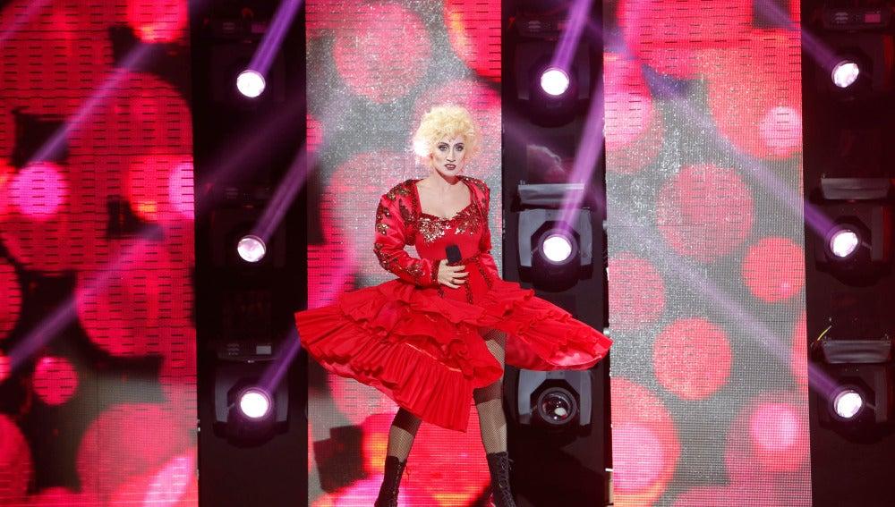 Ana Morgade es la reina del pop, Madonna