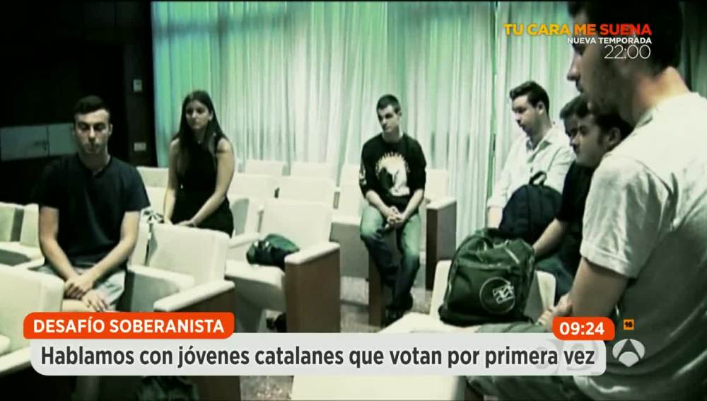 jóvenes catalanes