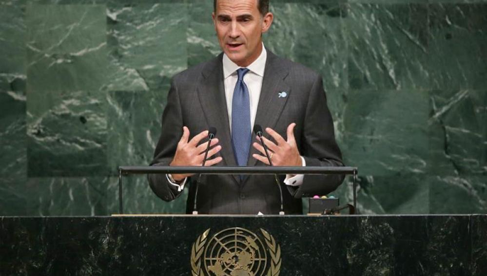 Felipe VI, en la cumbre de la ONU