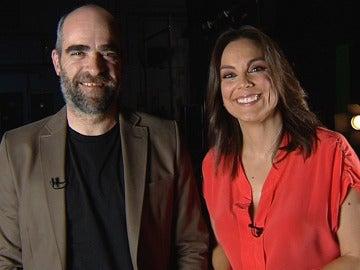 Mónica Carrillo y Luis Tosar