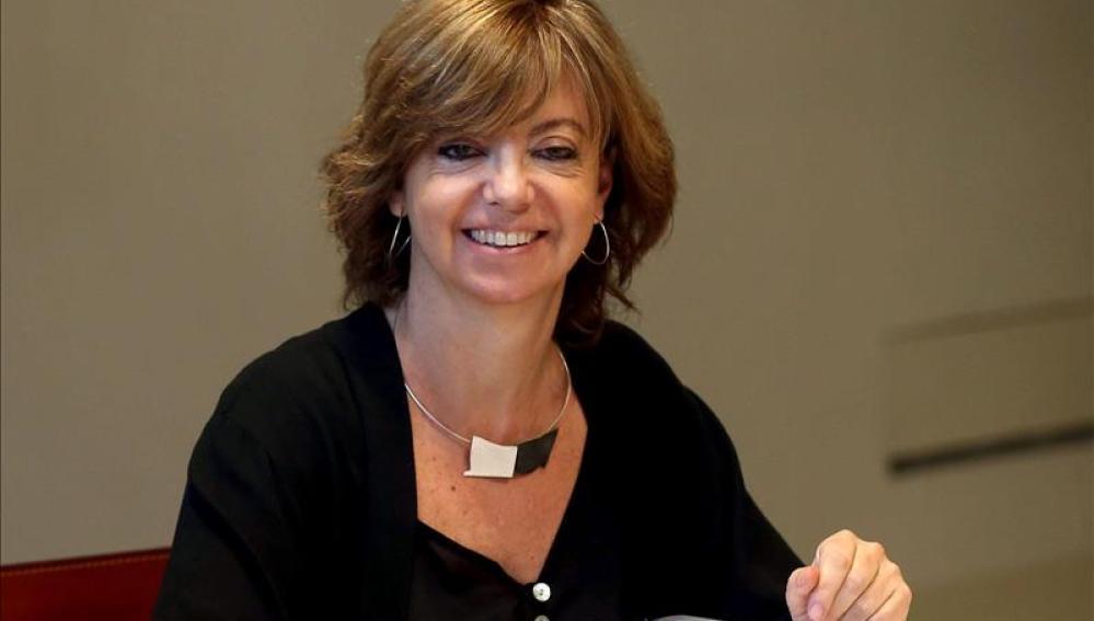 La consellera de Gobernación, Meritxell Borras
