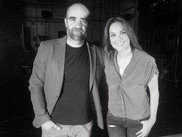 Luis Tosar y Mónica Carrillo