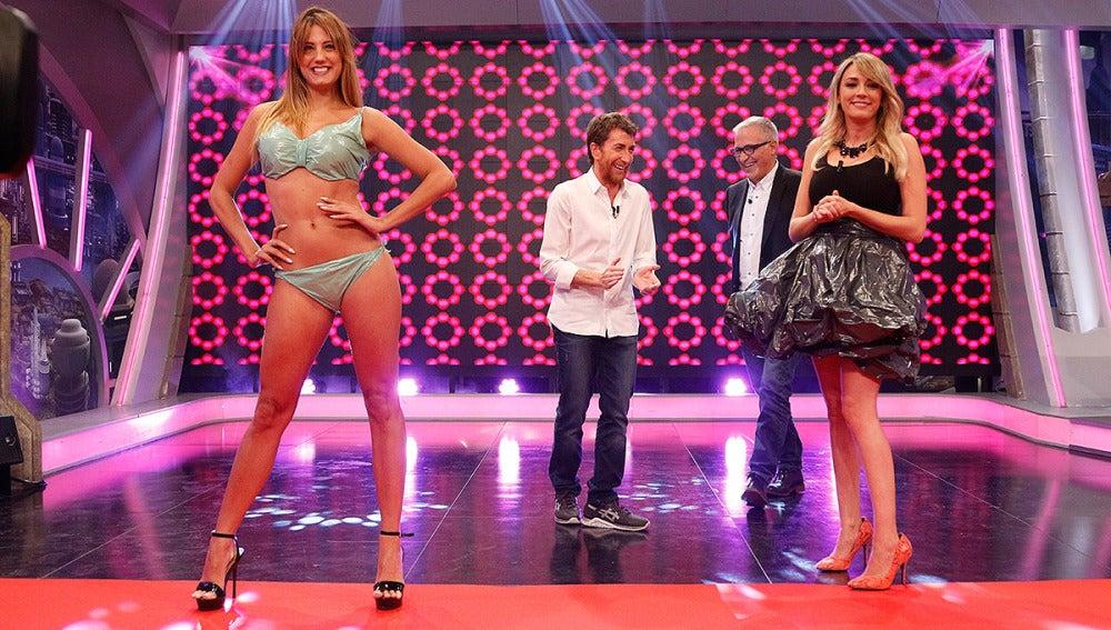 Anna Simon, Pablo Motos y Xavier Sardà en El Hormiguero 3.0