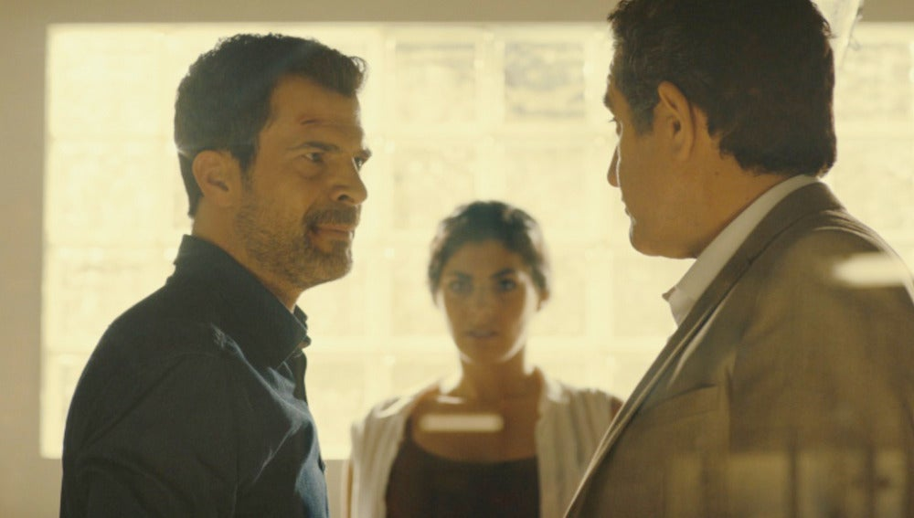 Héctor, Lola y Juan Rueda