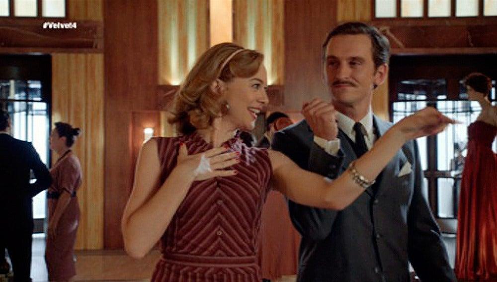 Clara, encantada con Víctor