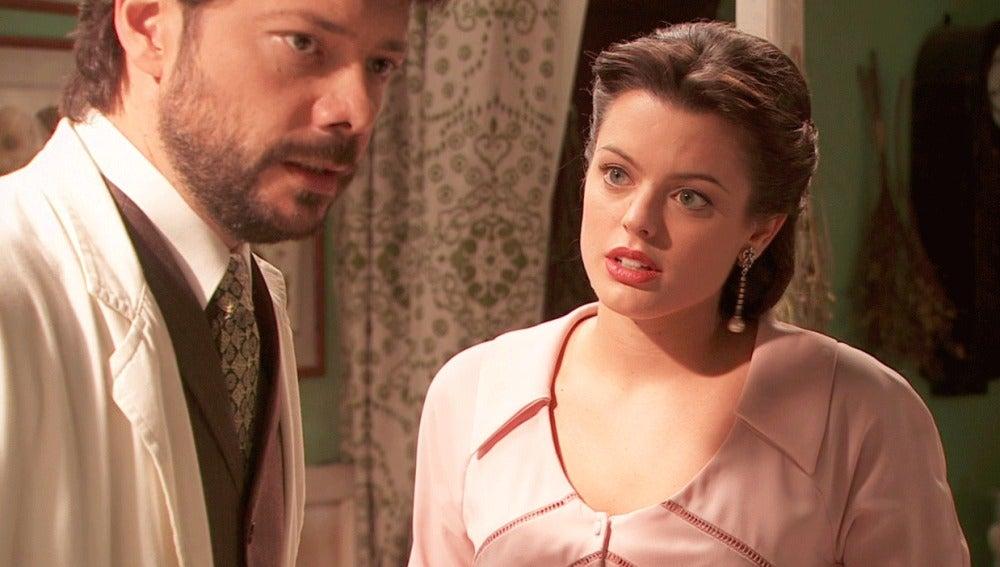 Lucas, muy afectado por el rechazo de Rosalía