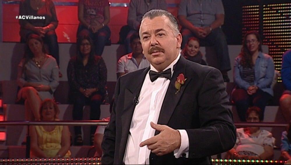 Javier Benítez encarna a Vito Corleone de 'El Padrino'