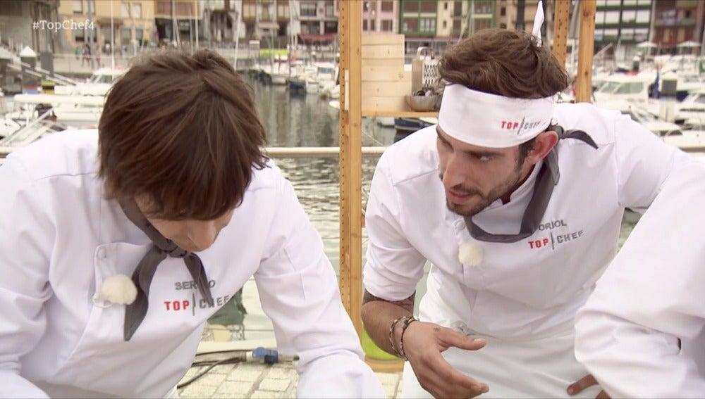 """Oriol: """"Sergio es Míster correcto y su cocina sigue plana"""""""