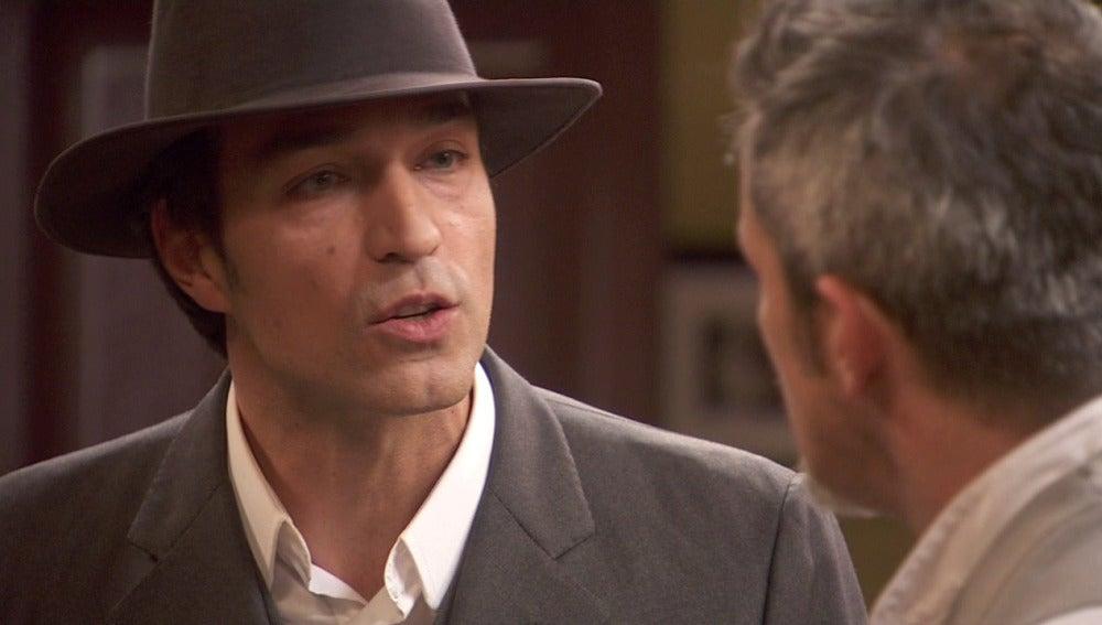 Alfonso no aceptará el chantaje del ladrón