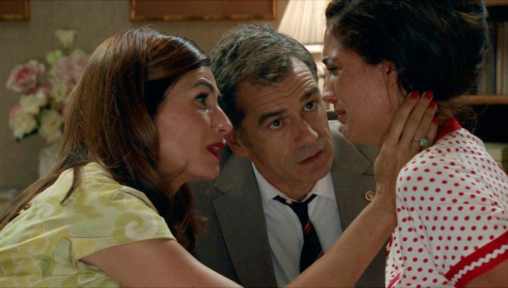 Amar C692 - Adela y el Doctor Martos convencen a Sofía para seguir luchando