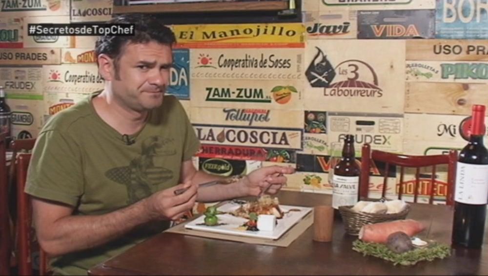 Iñaki López nos invita a comer con él