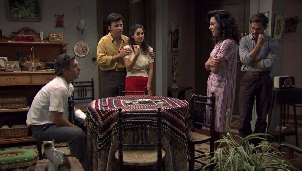 Amar C692 - Pepa descubre que su hijo David ha sido secuestrado por El Charro