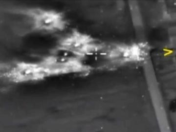 Ataque aéreo ruso contra las posiciones de EI