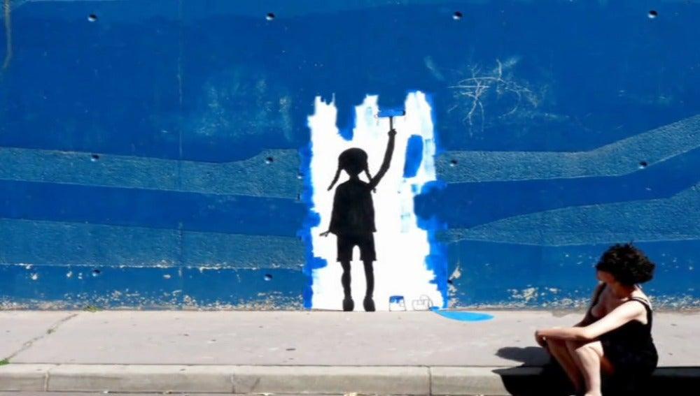 Graffiti callejero de Banksy