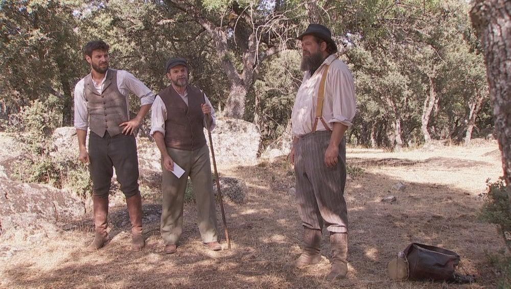 Raimundo, Mauricio y Bosco siguen sin encontrar pistas sobre Francisca