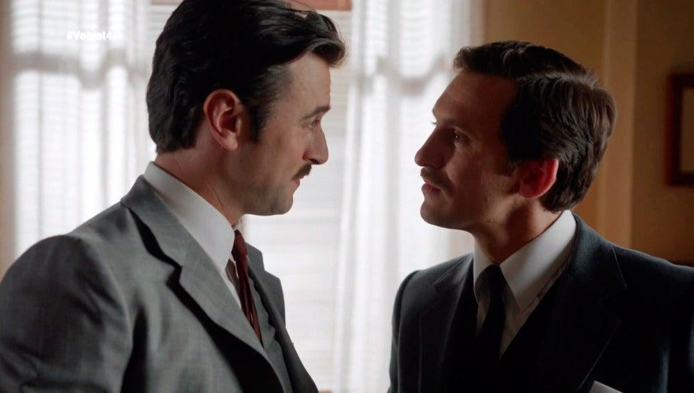 Mateo advierte a Víctor sobre Clara