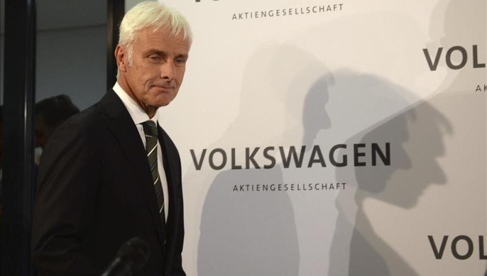 El recién nombrado presidente del grupo Volkswagen, Matthias Müller.