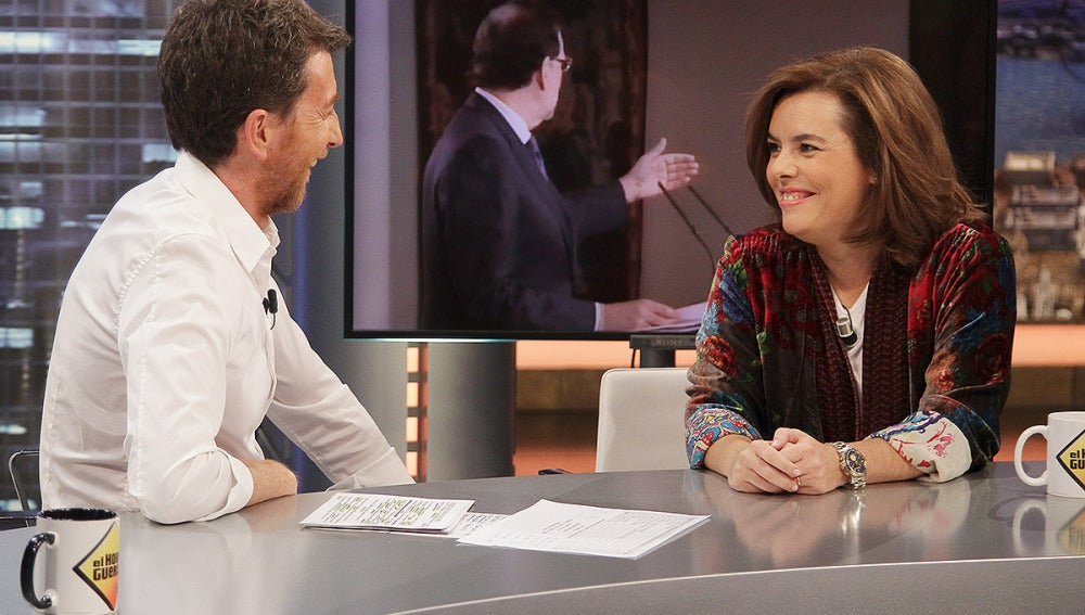 Soraya Sáez de Santamaría en El Hormiguero 3.0