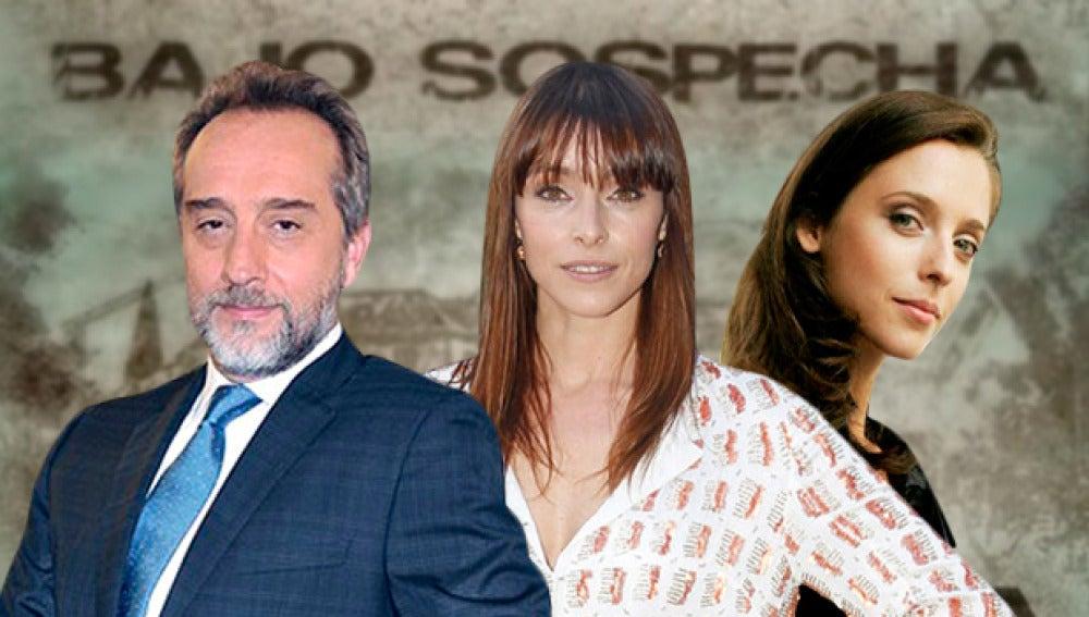 Gonzalo de Castro, Ingrid Rubio y Leticia Dolera