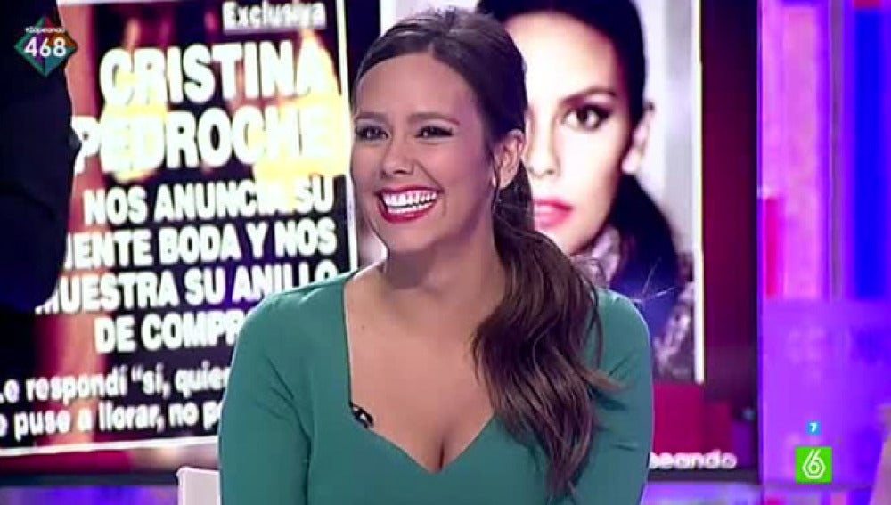 Cristina Pedroche confirma su boda con David Muñoz