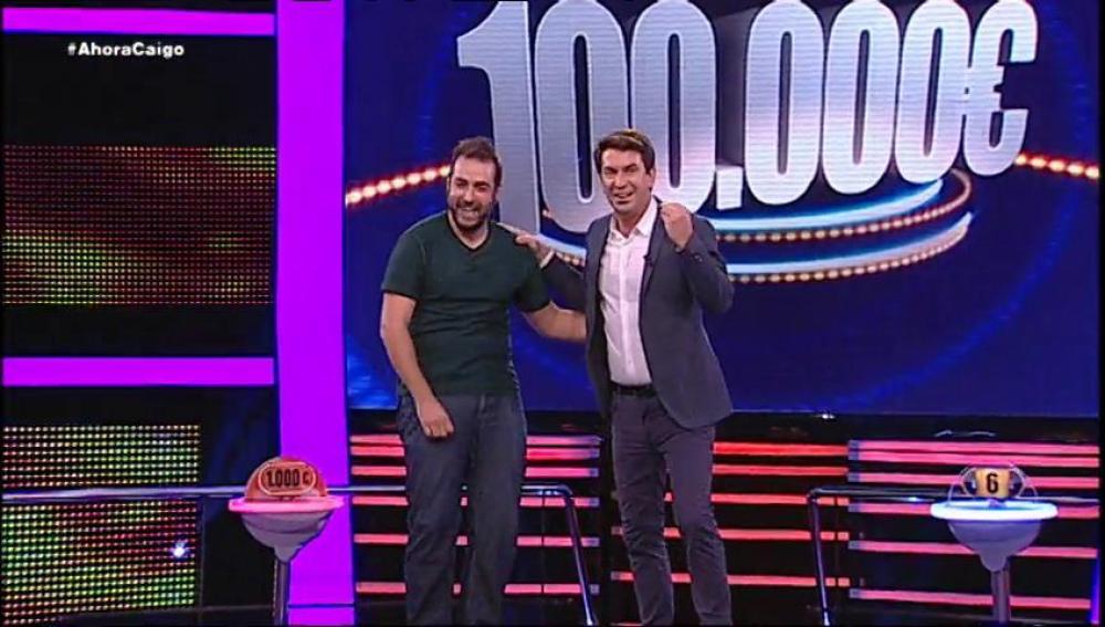Sergio eliminará a sus 10 contrincantes y se llevará 100.00 euros
