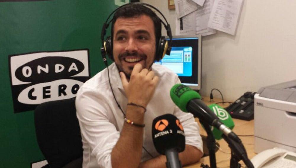 Alberto Garzón en Onda Cero
