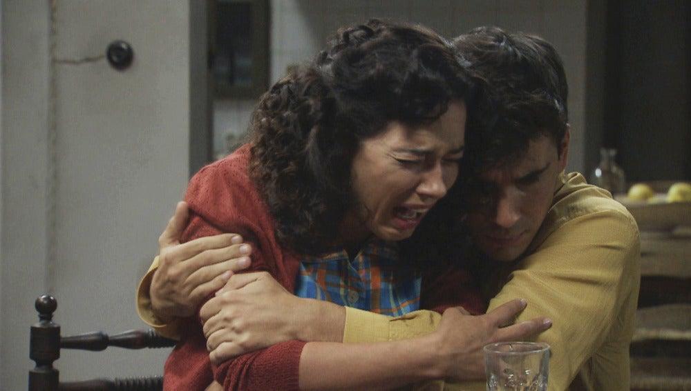 La familia Montilla, devastada por la muerte de David