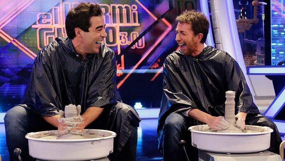 Pablo Chiapella y Pablo Motos en El Hormiguero 3.0