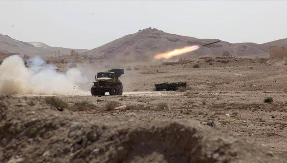 Misiles en Siria