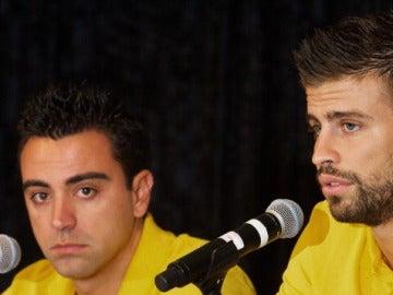 Xavi y Piqué