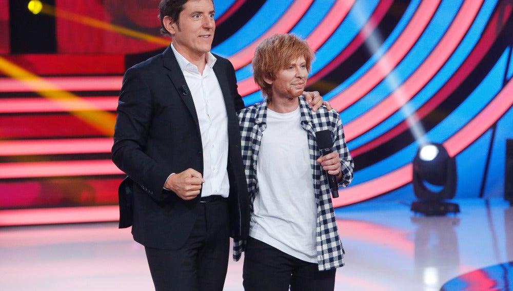 Valoración Vicky Larraz como Ed Sheeran