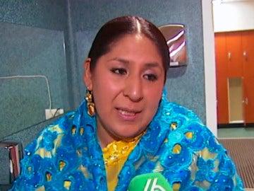 Marta la 'Alteña', una de las 'Cholitas'