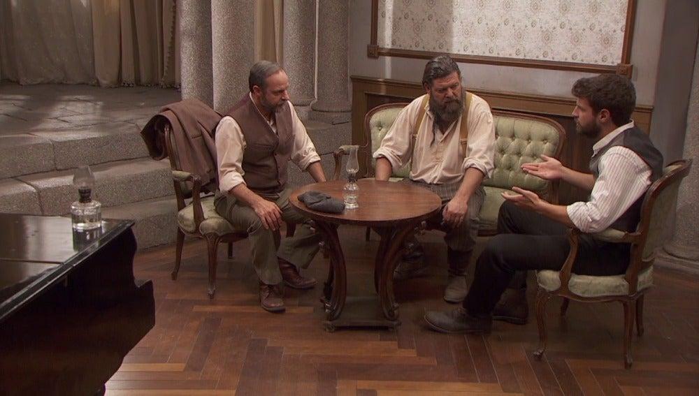 Mauricio, Bosco y Raimundo