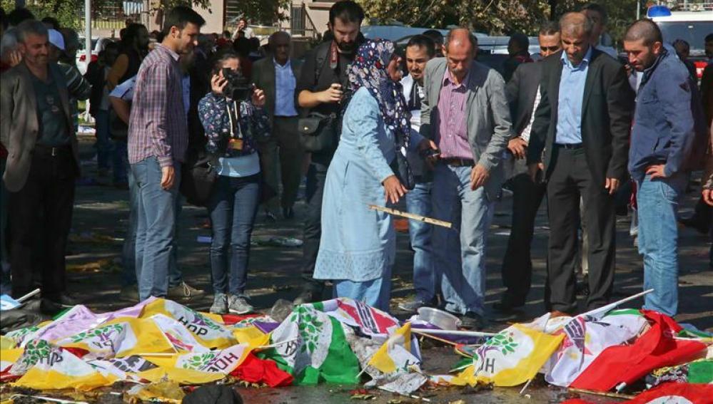 El atentado ha dejado 86 muertos y 126 heridos