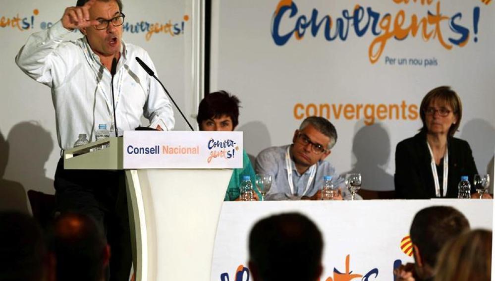 El presidente en funciones, Artur Mas