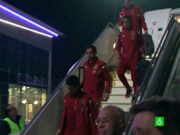La Selección llega a Kiev
