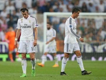 Bale y Cristiano Ronaldo, en un partido del Real Madrid