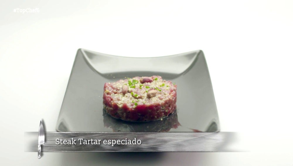 Steak tartar especiado